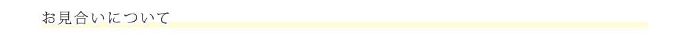 ご質問にお答えします 「ブライダルサロン オージュ」についてのご質問 お見合いについて